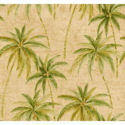 TR 20004 Tapeta Seabrook palmy kokosowe Trinidad