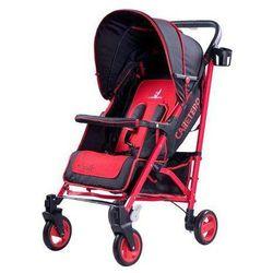 Wózek spacerowy Sonata czerwony
