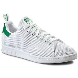Buty adidas - Stan Smith CK S80047 Ftwwht/Ftwwht/Green