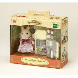 Sylvanian Families, lodówka i mama królików z czekoladowymi uszkami, zestaw z figurką Darmowa dostawa do sklepów SMYK
