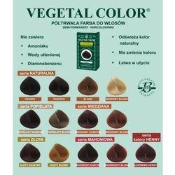 Herbatint półtrwała farba do włosów Vegetal Color seria Popielata 7C popielaty blond