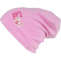 Czapka Dziecięca GIRLS krasnal ciamajda 40-42 Róż - CD14-1