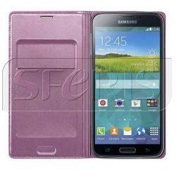 SAMSUNG Flip Wallet etui z klapka do Galaxy S5 różowy - EF-WG900BPEGWW