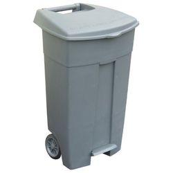 Pojemnik na odpady z pokrywą 120l