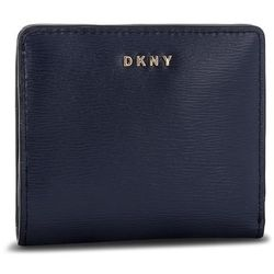 073133f74c87e Mały Portfel Damski DKNY - Bryant Bifold Wallet R83Z3657 Navy NVY