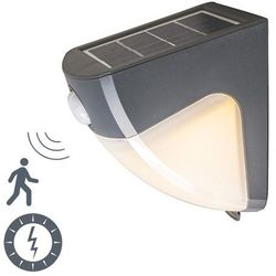 Lampa zewnętrzna LED Scout ciemnoszara na energię słoneczną