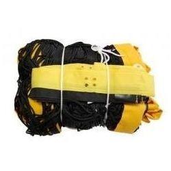 Siatka do siatkówki plażowej czarna z antenkami, profesjonalna - SI 0155