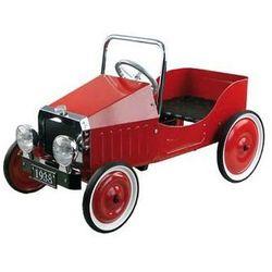 Jeździk dla dzieci - samochód na pedały. Czerwone Retro 1939