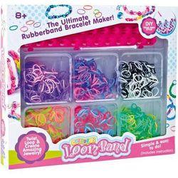 Zestaw do robienia biżuterii gumowej - zabawki kreatywne dla dzieci
