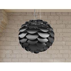 Lampa sufitowa wisząca - żyrandol czarny - oświetlenie - MOSELLE