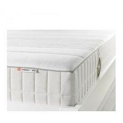 MYRBACKA Materac z pianki memory, twardy, biały 160cm