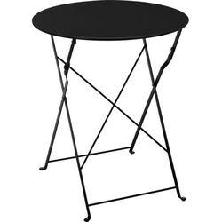 Stolik składany Bistro - czarny