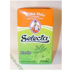 Yerba mate Selecta Limon 500g