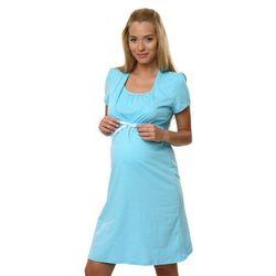 Koszula dla kobiet w ciąży i karmiących ITALIAN FASHION Radość niebieska