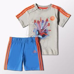 Komplet adidas Fun Summer Set Kids S21465