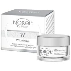 Norel (Dr Wilsz) WHITENING DE-PIGMENTATION CREAM WITH WHITENING COMPLEX Krem na przebarwienia z kompleksem wybielającym (DK203)