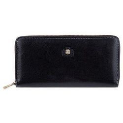 Duży portfel damski czarny