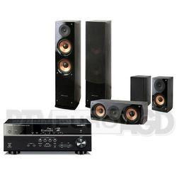 Yamaha MusicCast RX-V481, Pure Acoustic NOVA 6 (czarny) - produkt w magazynie - szybka wysyłka!