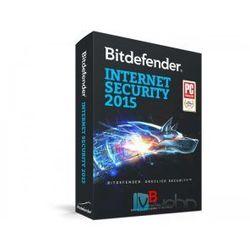 Bitdefender Internet Security 2015 PL - wersja na 3 komputery na 2 lata, licencja elektroniczna