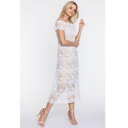 3a31770d10 suknie sukienki biala koronkowa sukienka - porównaj zanim kupisz