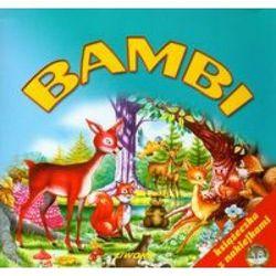 Bambi - Książeczka z naklejkami (opr. miękka)