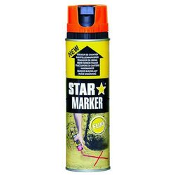 Farba w aerozolu AMPERE Star Marker - pomarańczowy FLUO