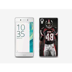 Foto Case - Sony Xperia X - etui na telefon - sportowiec