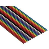 Kodowany kolorami płaski kabel taśmowy 3302 3M 3302-16 SF 80610790265 0.080 mm² Produkty w metrach bieżących