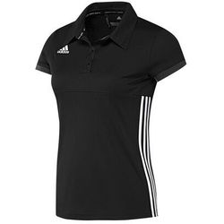 ADIDAS KOSZULKA TEAM POLO WOMEN T16 BLACK-WHITE, KOLOR: BLACK - WHITE, ROZMIAR: L