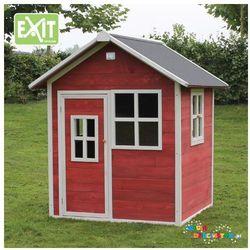 Domek dla dzieci do ogrodu EXIT Loft 100 czerwono - brązowy
