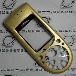 Obudowa Nokia 3650 przednia żółta
