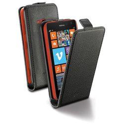 Cellular Line Etui Flap Essential do Nokia Lumia 625, Czarne (CFLAPESSENL625BK) Darmowy odbiór w 19 miastach!