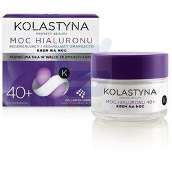 Kolastyna Krem moc hialuronu 50 ml na noc 40+