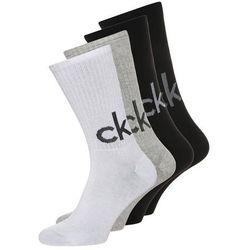 Calvin Klein Underwear 4 PACK Skarpety black/white/oxford heather