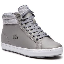 eb9f9120230e9 Sneakersy LACOSTE - Straightset Insulatec 3181 Caw 7-36CAW0044H92 Gry/Lt Gry