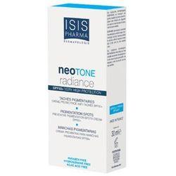 Isis Pharma - Neotone Radiance SPF 50+ - Serum rozjaśniające przebarwienia na dzień SPF 50+ - 30 ml