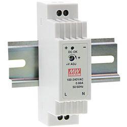 Zasilacz na szynę DIN Mean Well DR-15-15, 15 V/DC , 1 A, 15 W, 1 x
