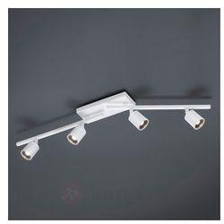 Czteropunktowa lampa sufitowa LED Cayman