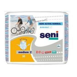 SENI ACTIVE NORMAL Majtki chłonne Medium x 10 szt.