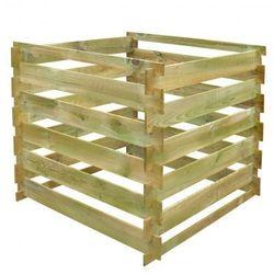 Kompostownik drewniany 0,54 m3 Zapisz się do naszego Newslettera i odbierz voucher 20 PLN na zakupy w VidaXL!