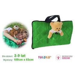 Śpiwór do spania dla dziecka, 155x 63 cm, TULOKO - Zielony