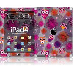 Rovens.pl Nexgen Skins - Zestaw skórek na obudowę z efektem 3D iPad 2/3/4 (Owlettes 3D)