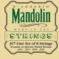D'Addario J-67 struny do mandoliny