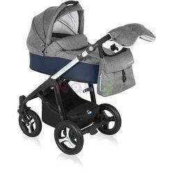 Wózek wielofunkcyjny Husky Lupo Baby Design (granat + winter pack)