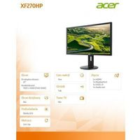 LCD Acer XF270HPbmiiprz
