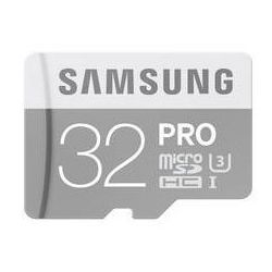 Karta pamięci Samsung Micro SDHC PRO 32GB class 10 + adapter v2 (MB-MG32EA/EU)