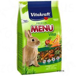 VITAKRAFT Menu vital karma podst. dla królika asb 5 kg- RÓB ZAKUPY I ZBIERAJ PUNKTY PAYBACK - DARMOWA WYSYŁKA OD 99 ZŁ