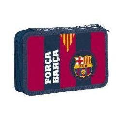 Piórnik dwukomorowy FC Barcelona