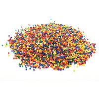 2015 Hot 10000PCS/ Bag Pearl Shaped Crystal Soil Water Beads Mud Grow Magic Jelly Balls Home Decor Aqua Soil