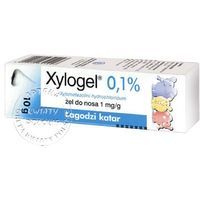 XYLOGEL 0,1% żel do nosa 10 g